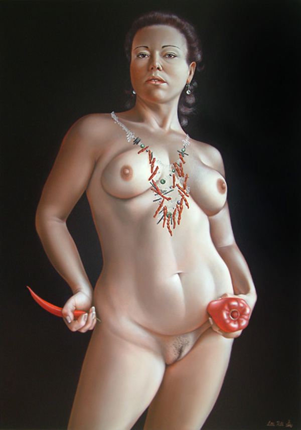 Portraits of Size: Paintings by Lilli Hill (NSFW): lilli_hill_14_20120507_1798375097.jpg