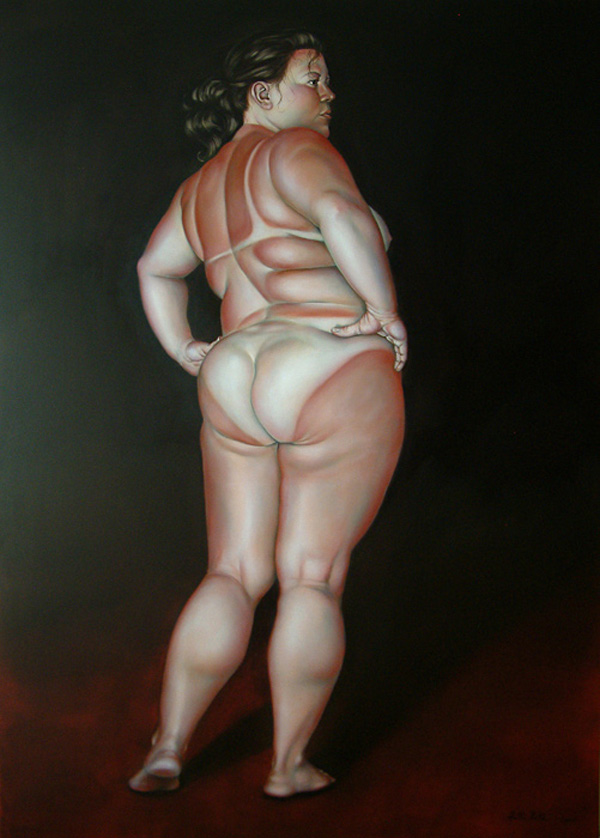 Portraits of Size: Paintings by Lilli Hill (NSFW): lilli_hill_4_20120507_1013819061.jpg