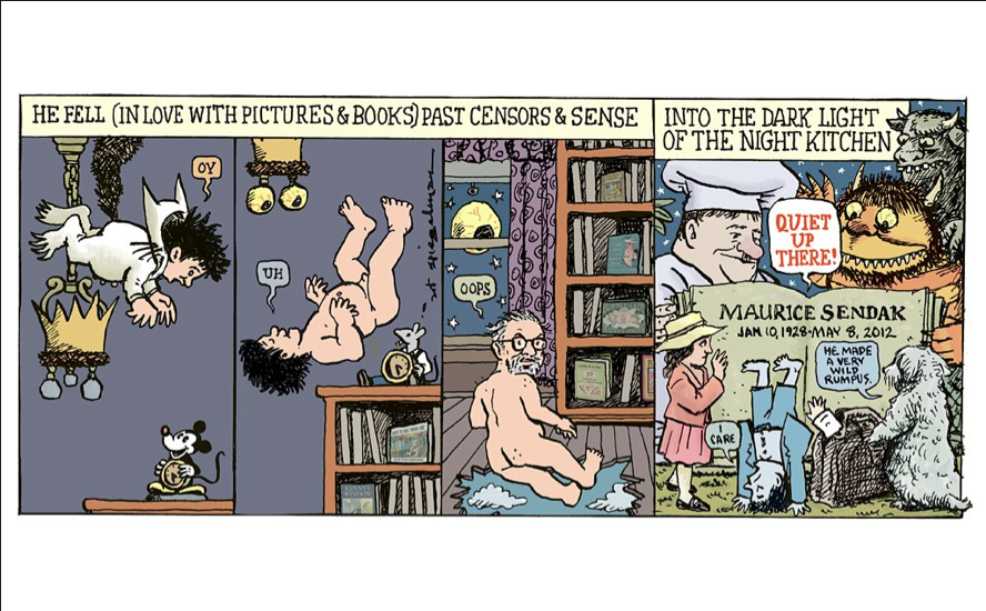 Thanks, Maurice: Artists for Maurice Sendak: sendak_tributes_7_20120515_1979963538.png