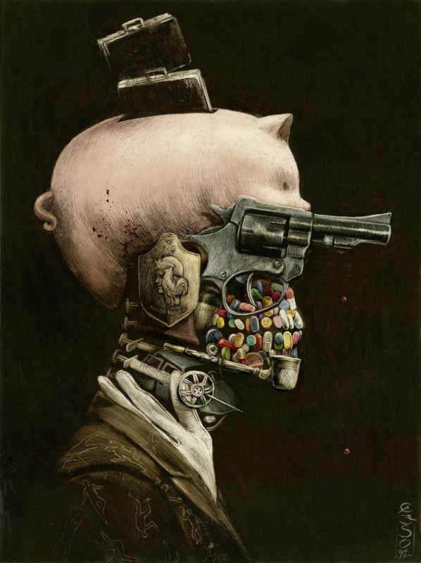 The Work of Argentina's Santiago Caruso: 8465111_orig.jpg