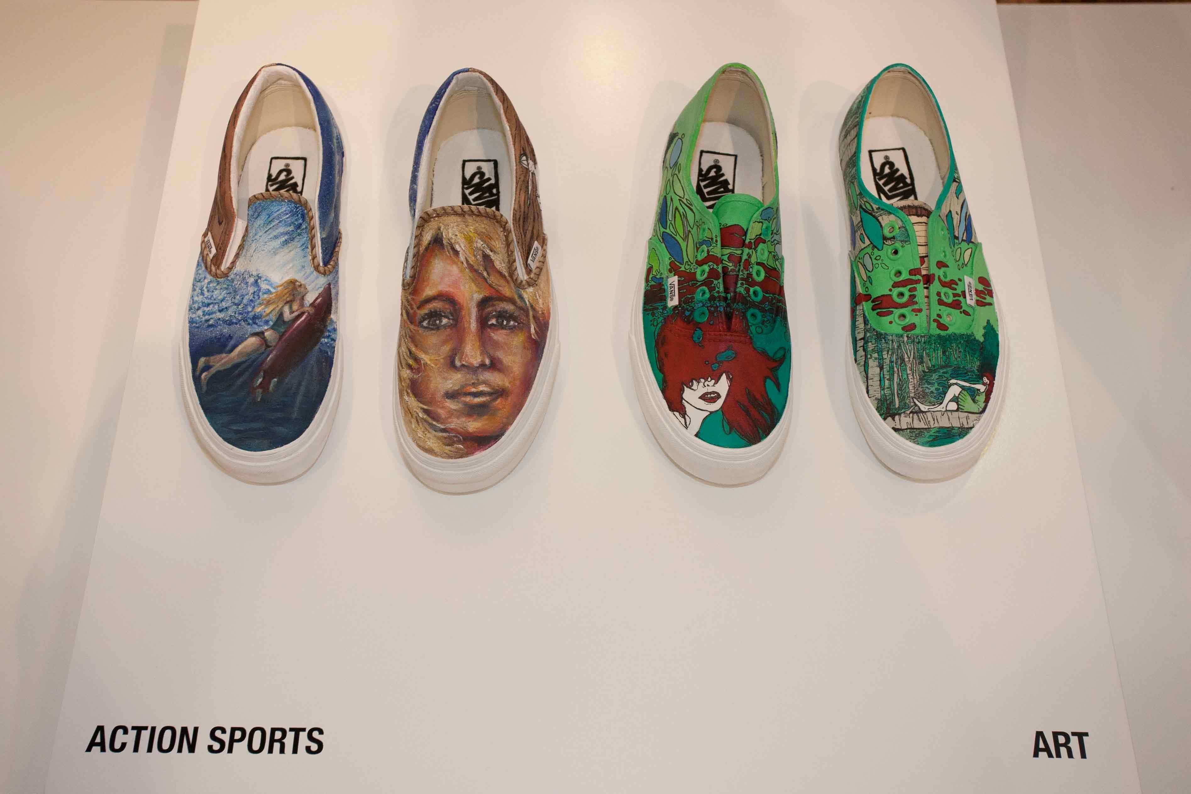 6b5bdce77c9e Juxtapoz Magazine - Vans Custom Culture Art Showcase