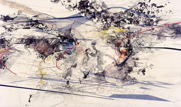 MEHRETU'S Densley-Layered Abstractions: juliemehretu_10_20120607_1934545100.jpg