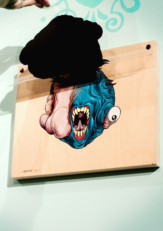 "Preview: Alex Pardee ""Tu'Mor or Not Tu'Mor?"" @ Cotton Candy Machine, Brooklyn: pardee_tumor_or_not_3_20120608_1337552276.jpg"