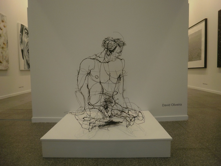 """Floating"" Wire Sculptures by David Oliveira: david_oliveira_16_20120608_1582561992.jpg"