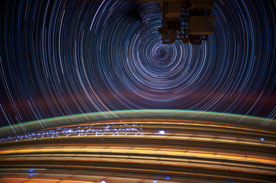 Star Trail Photos by Astronaut Don Pettit: don_pettit_12_20120612_2089639202.jpg