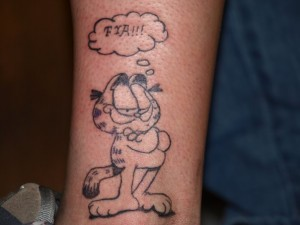 Brilliant Ideas in Tattoos: garfield_tattoo_3_20120614_1477366038.jpeg