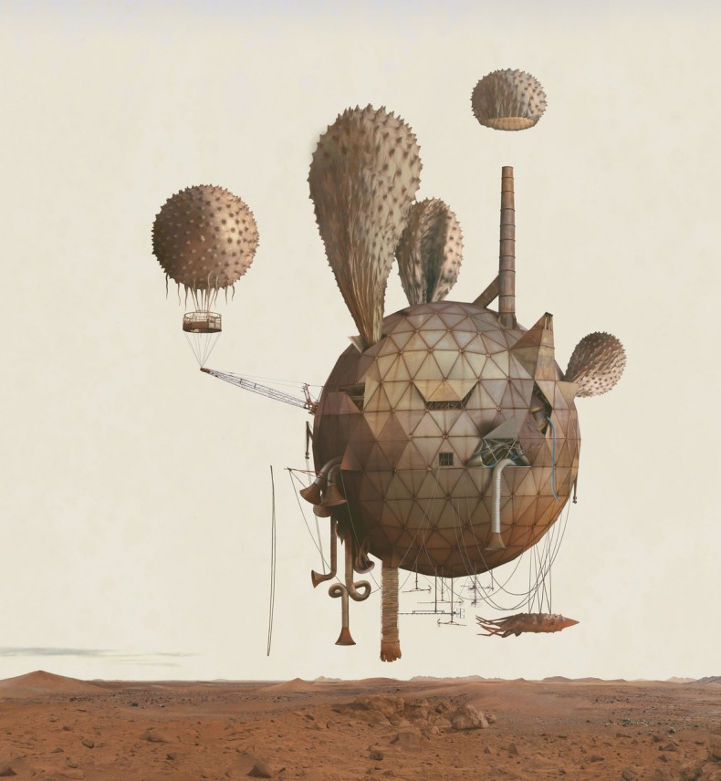 "Kahn & Selesnick's ""Mars: Adrift On the Hourglass Sea"" Series: Juxtapoz-KahnSelesnick05.jpg"