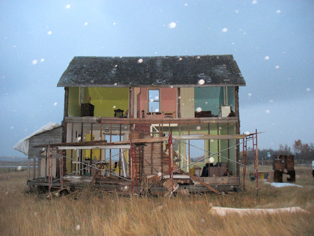 Abandoned House turned Gigantic Dollhouse by Heather Benning: heather_benning_10_20120705_1527929004.jpg