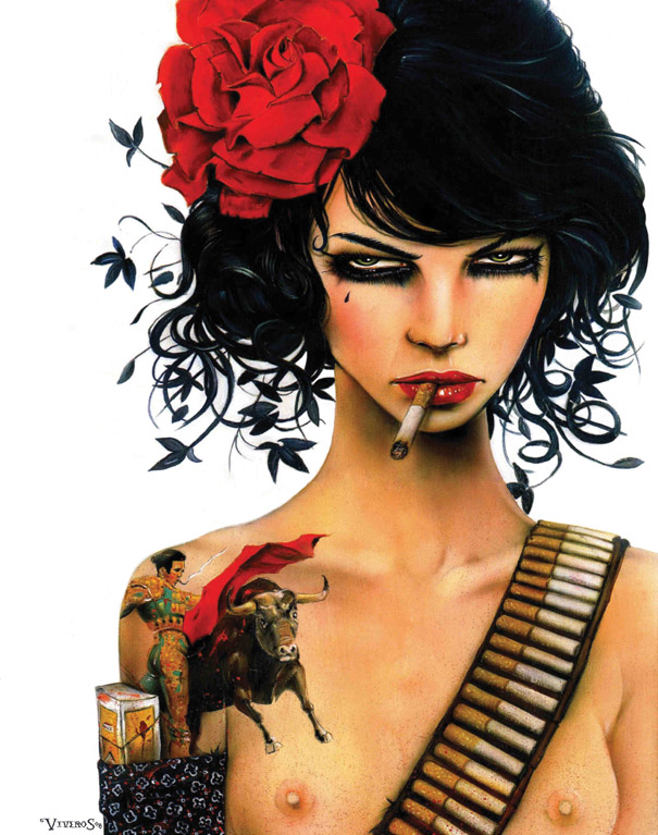 Smoking Beauties by Brian M. Viveros: brian_m_viveros_10_20120710_1412917093.jpg