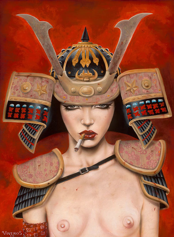 Smoking Beauties by Brian M. Viveros: brian_m_viveros_11_20120710_1135997997.jpg
