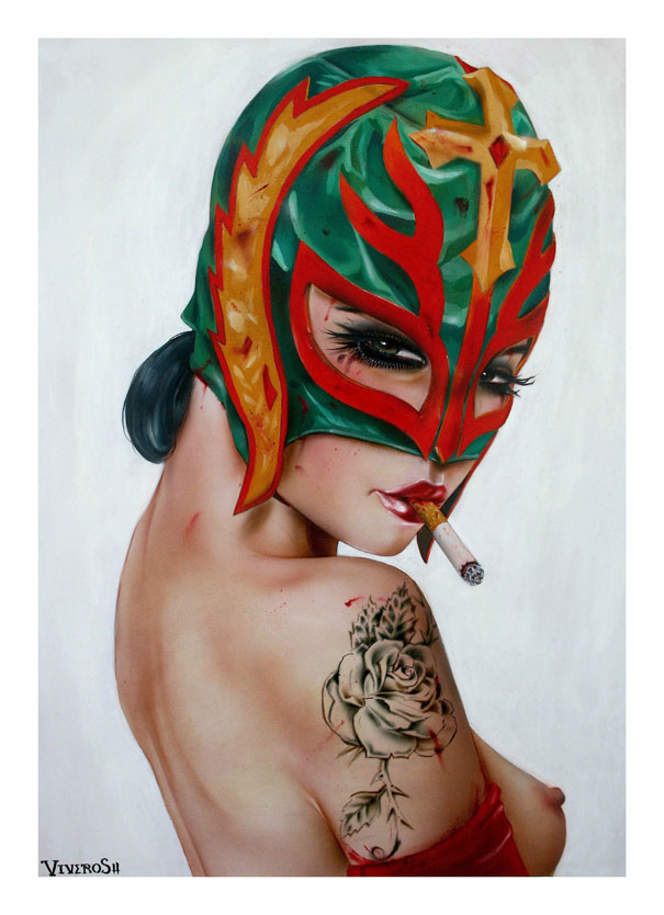 Smoking Beauties by Brian M. Viveros: brian_m_viveros_15_20120710_1322370798.jpg
