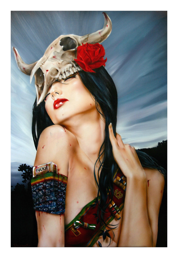Smoking Beauties by Brian M. Viveros: brian_m_viveros_20_20120710_1416179408.jpg