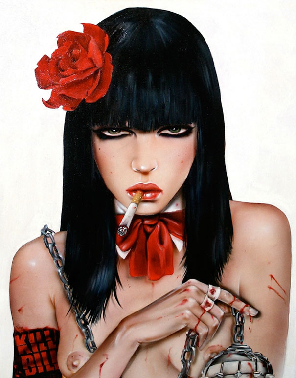 Smoking Beauties by Brian M. Viveros: brian_m_viveros_2_20120710_1256967833.jpg