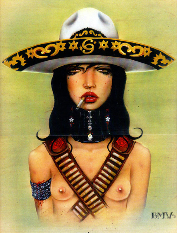 Smoking Beauties by Brian M. Viveros: brian_m_viveros_3_20120710_1743869591.jpg