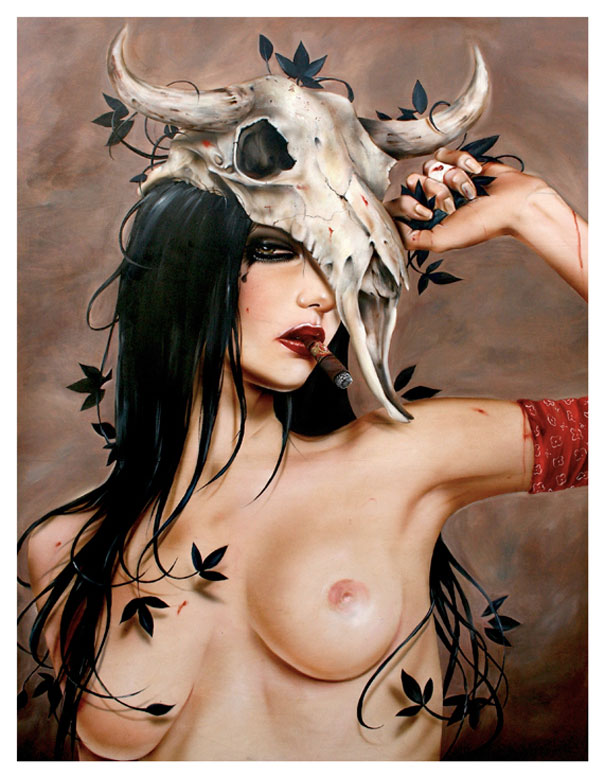 Smoking Beauties by Brian M. Viveros: brian_m_viveros_5_20120710_1376245051.jpg