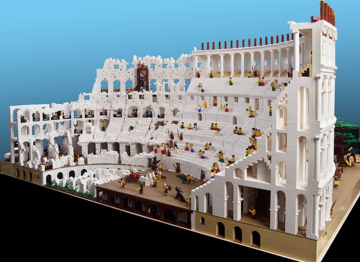 The World's First Lego Colosseum by Ryan McNaught: lego_colosseum_9_20120712_2025578522.jpg