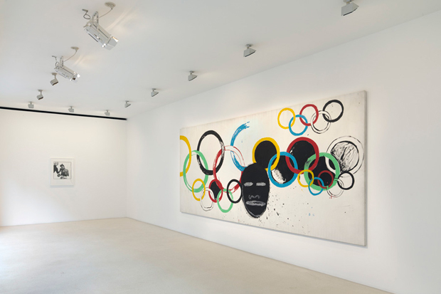 "JEAN-MICHEL BASQUIAT AND ANDY WARHOL ""Olympic Rings"" @ Gagosian, London: jean-michel_basquiat_and_andy_warhol_2_20120715_1155367320.jpeg"