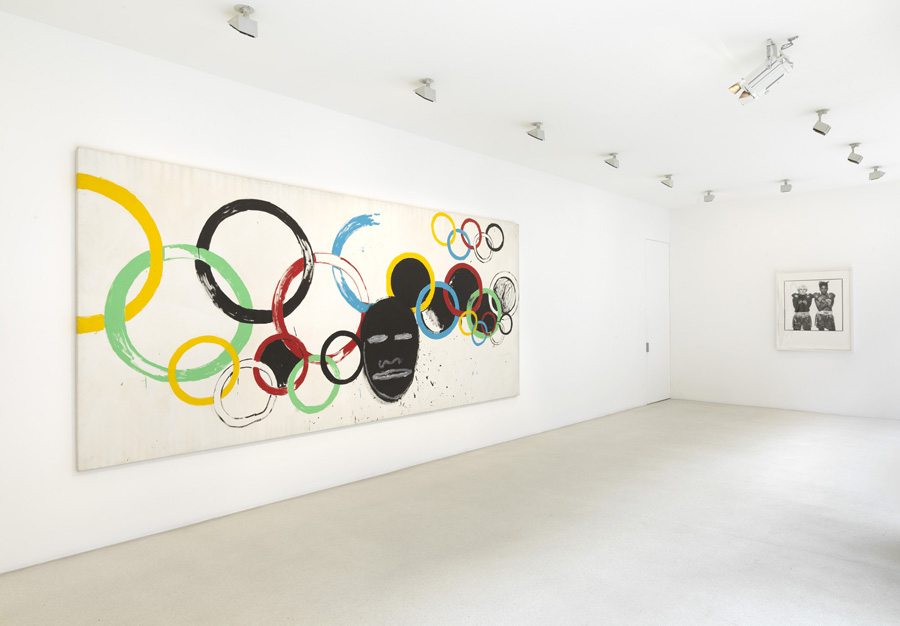 "JEAN-MICHEL BASQUIAT AND ANDY WARHOL ""Olympic Rings"" @ Gagosian, London: jean-michel_basquiat_and_andy_warhol_6_20120715_1166748536.jpeg"
