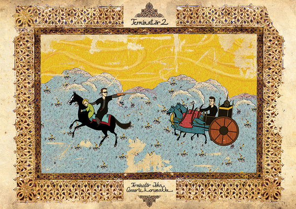 Murat Palta: Your Favorite Cult Film in Ottoman Style: a691587ff7e19aaadcddfc51b42e3fe1.jpg