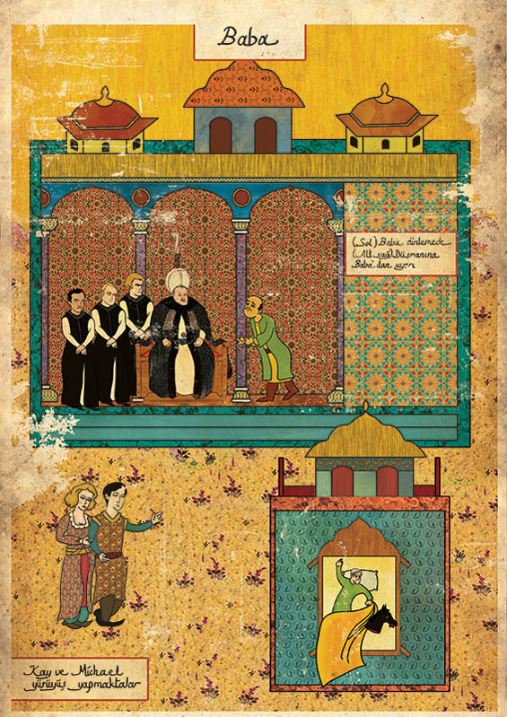 Murat Palta: Your Favorite Cult Film in Ottoman Style: ottoman-Godfather.jpg