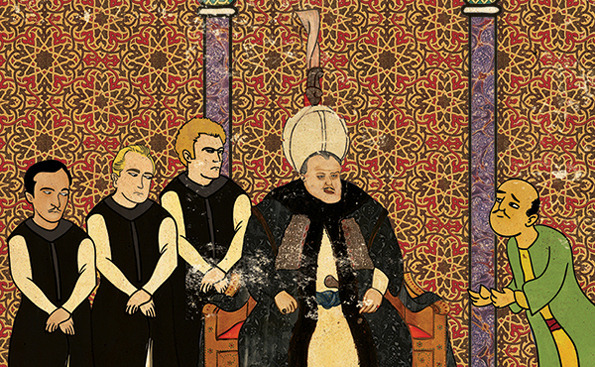 Murat Palta: Your Favorite Cult Film in Ottoman Style: ottoman-Godfather2.jpg