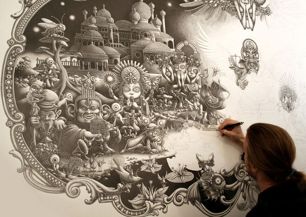 Graphite Illustrations by Joe Fenton: JuxtapozJoeFenton00.jpg