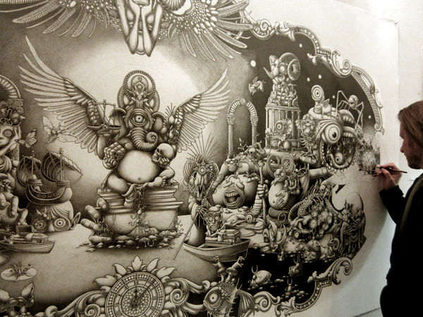 Graphite Illustrations by Joe Fenton: JuxtapozJoeFenton01.jpg