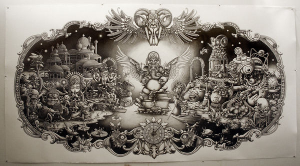 Graphite Illustrations by Joe Fenton: JuxtapozJoeFenton02.jpg