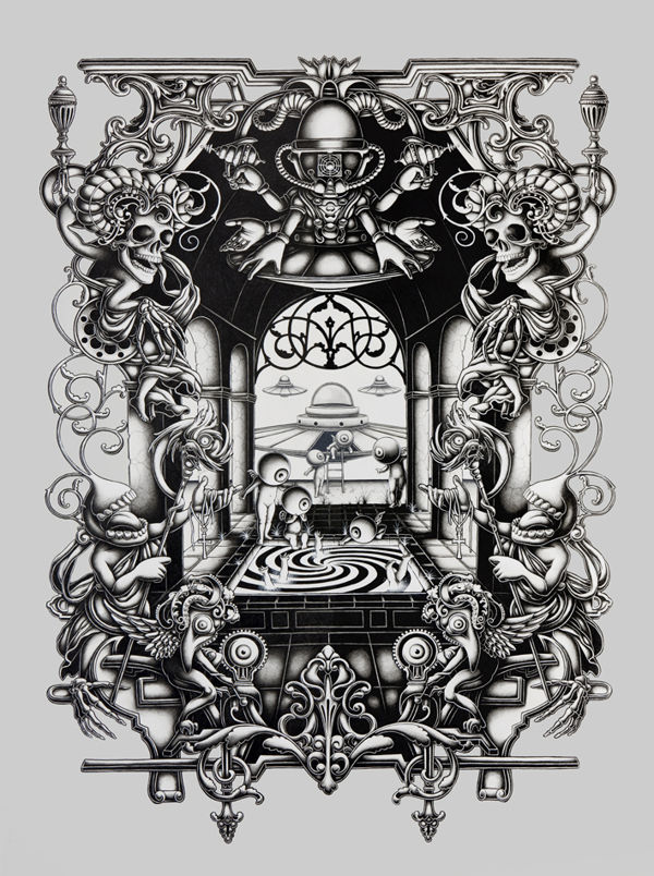 Graphite Illustrations by Joe Fenton: JuxtapozJoeFenton03.jpg