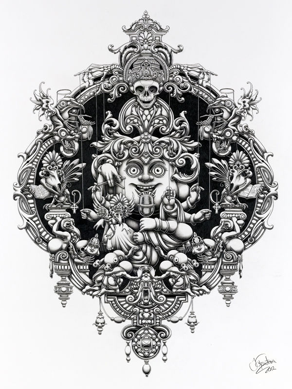 Graphite Illustrations by Joe Fenton: JuxtapozJoeFenton04.jpg