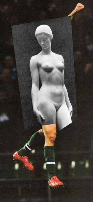 Jens Ullrich's Collage: A Fusion of Contemporary Sports and Classical Sculpture : jens_ullrich_collage_1_20120722_1527752864.png