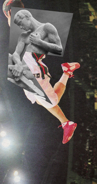 Jens Ullrich's Collage: A Fusion of Contemporary Sports and Classical Sculpture : jens_ullrich_collage_2_20120722_1812929845.png