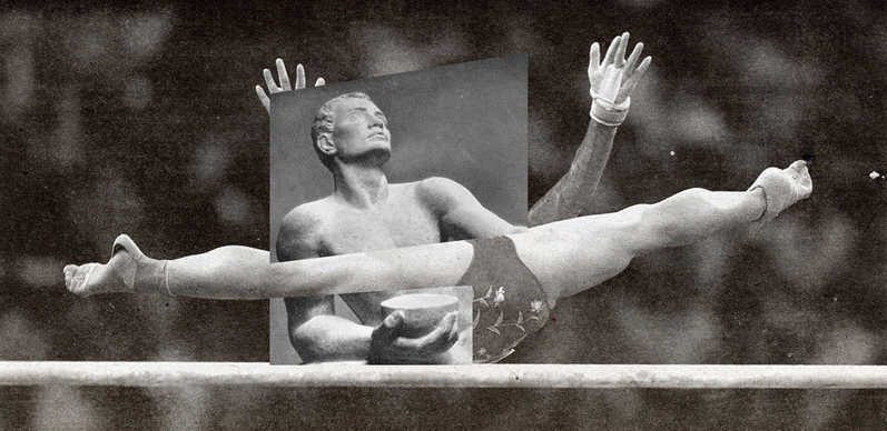 Jens Ullrich's Collage: A Fusion of Contemporary Sports and Classical Sculpture : jens_ullrich_collage_3_20120722_1998489675.png