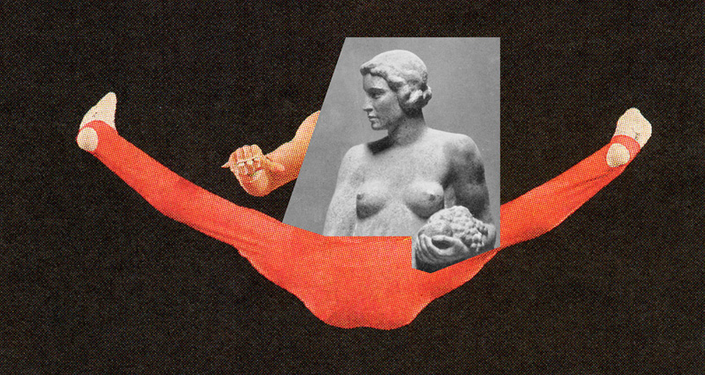 Jens Ullrich's Collage: A Fusion of Contemporary Sports and Classical Sculpture : jens_ullrich_collage_4_20120722_1546161194.png