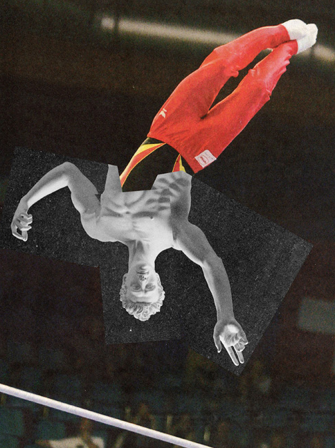 Jens Ullrich's Collage: A Fusion of Contemporary Sports and Classical Sculpture : jens_ullrich_collage_6_20120722_1494659981.png