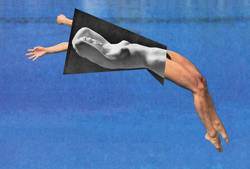 Jens Ullrich's Collage: A Fusion of Contemporary Sports and Classical Sculpture : jens_ullrich_collage_7_20120722_1402670570.png