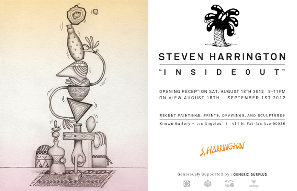 "Preview: Steven Harrington ""Inside Out"" Exhibition @ Known Gallery + Catalog: harrington_catalog_1_20120801_1874159408.jpeg"