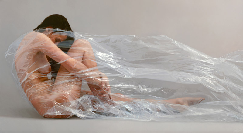 Wrapped in Plastic: Paintings by Robin Eley: robin_eley_1_20120803_2003733731.jpeg