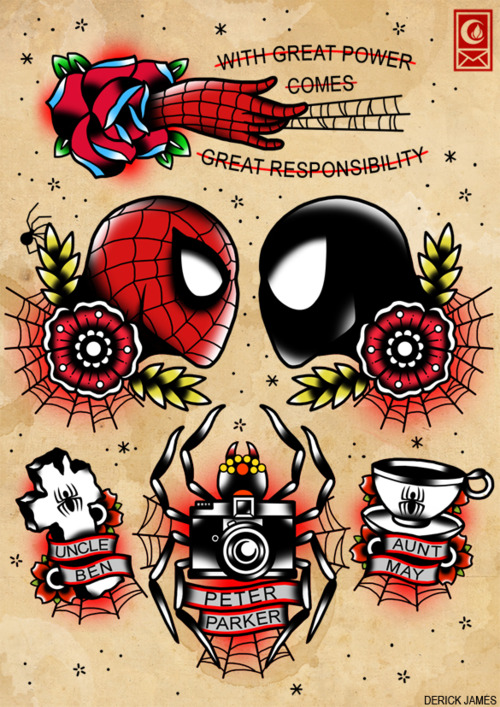 Pop Culture Tattoo Flashes by Derick James: derick_james_5_20120804_1292016849.jpeg