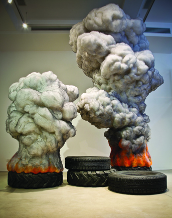 "Gal Weinstein's ""Fire Tires"": gale_weinstein_16_20120811_1867843754.jpeg"