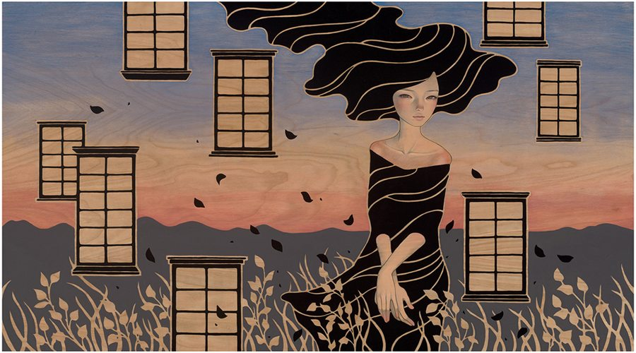 "Preview: Audrey Kawasaki ""Midnight Reverie"" @ Jonathan LeVine Gallery, NYC: audrey_k_new_12_20120830_1964709233.jpg"
