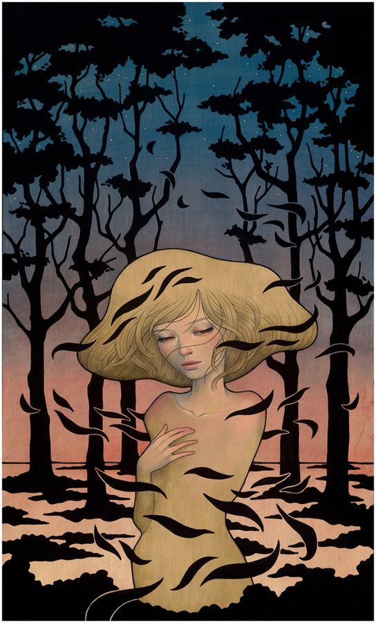 "Preview: Audrey Kawasaki ""Midnight Reverie"" @ Jonathan LeVine Gallery, NYC: audrey_k_new_1_20120830_1952812924.jpg"