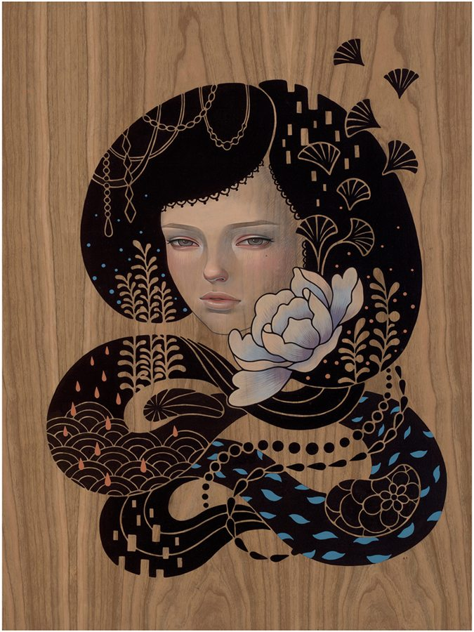 "Preview: Audrey Kawasaki ""Midnight Reverie"" @ Jonathan LeVine Gallery, NYC: audrey_k_new_2_20120830_1986261435.jpg"