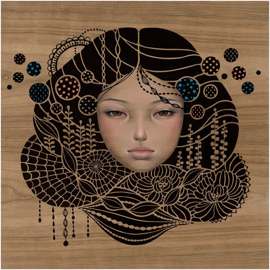 "Preview: Audrey Kawasaki ""Midnight Reverie"" @ Jonathan LeVine Gallery, NYC: audrey_k_new_8_20120830_1956083166.jpg"