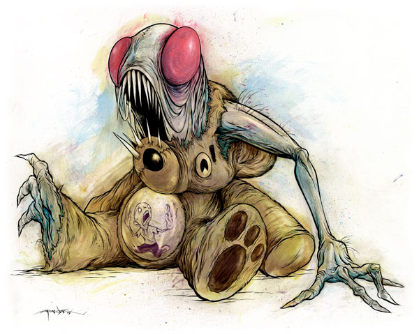 Preview: October Halloween issue curated by Alex Pardee featuring Sam Kieth & Nychos: oct12_33_20120904_1034259635.jpg