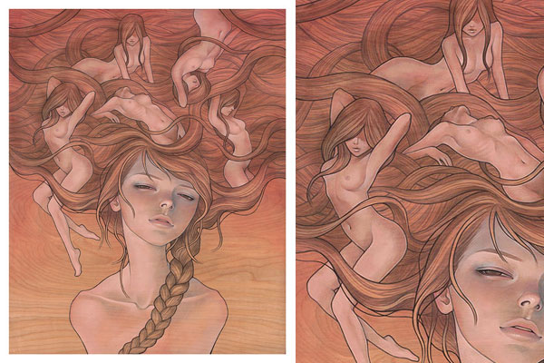 Top 20 Erotic Audrey Kawasaki Works (NSFW): 02.jpg