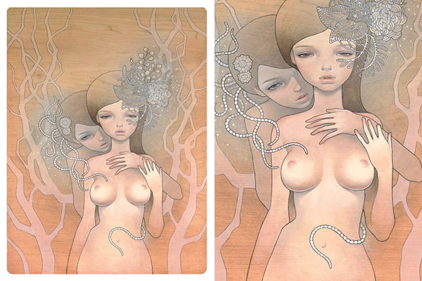 Top 20 Erotic Audrey Kawasaki Works (NSFW): 04.jpg
