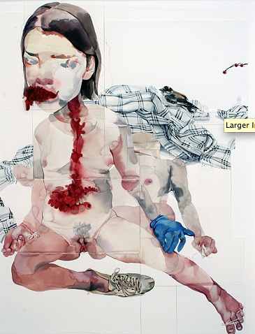 Works by Jennifer Poon: Juxtapoz-JenniferPoon03.png