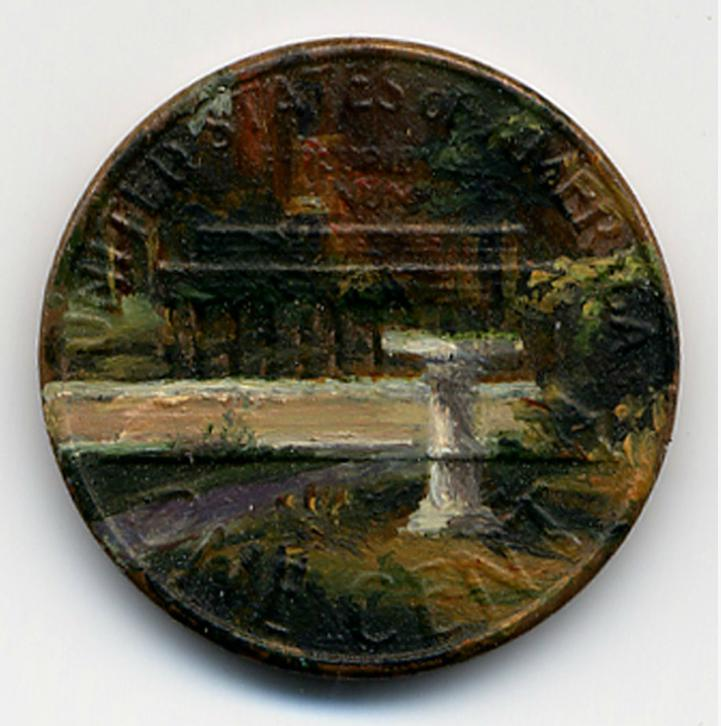 Oil Painting on Pennies by Jacqueline Lou Skaggs: jacqueline_lou_skaggs_10_20120918_1005371316.jpeg