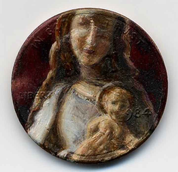 Oil Painting on Pennies by Jacqueline Lou Skaggs: jacqueline_lou_skaggs_4_20120918_2098212951.png